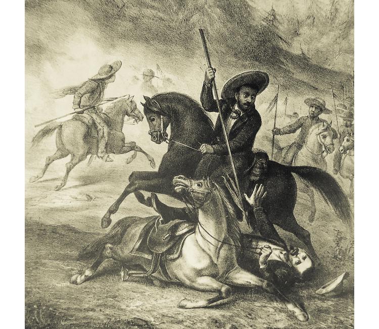 Leandro Valle, el héroe de la República muerto por la espalda