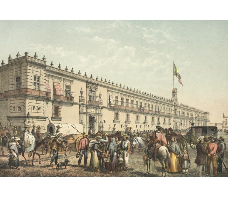 """Recuerdos del Zócalo (III): """"La entrada triunfal del ejército liberal a Ciudad de México en 1861"""""""