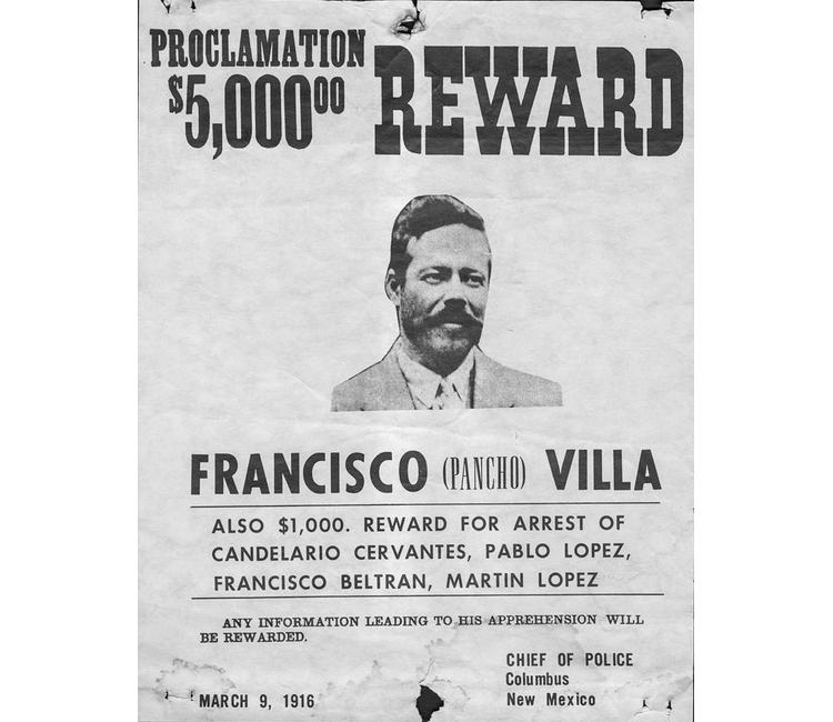 ¡Se busca a Pancho Villa!
