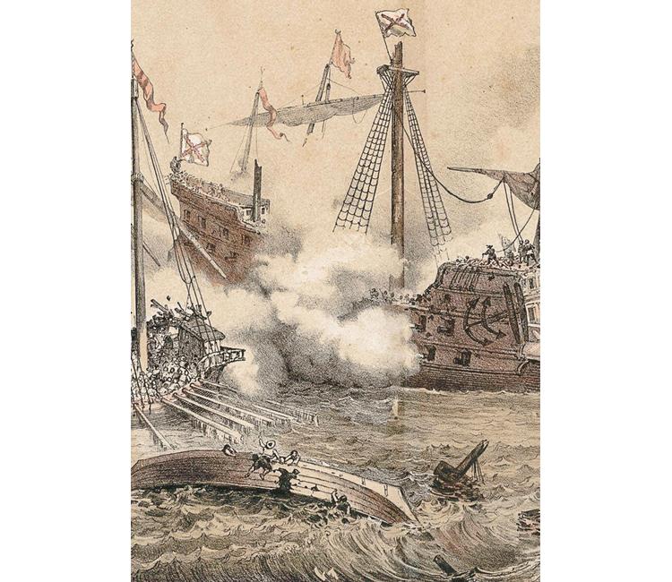 Corsarios en el Mar del Sur