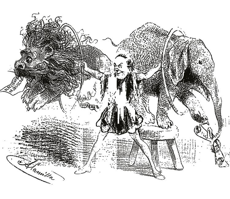 Jesús Alamilla, un caricaturista liberal que nunca dejó de hacer crítica política