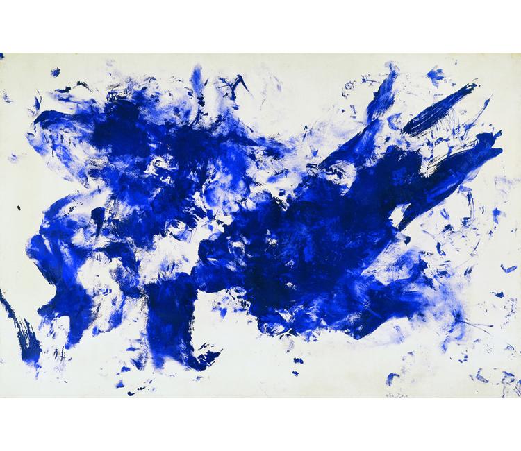 Últimos días para ver el azul ultramar de Yves Klein en el MUAC