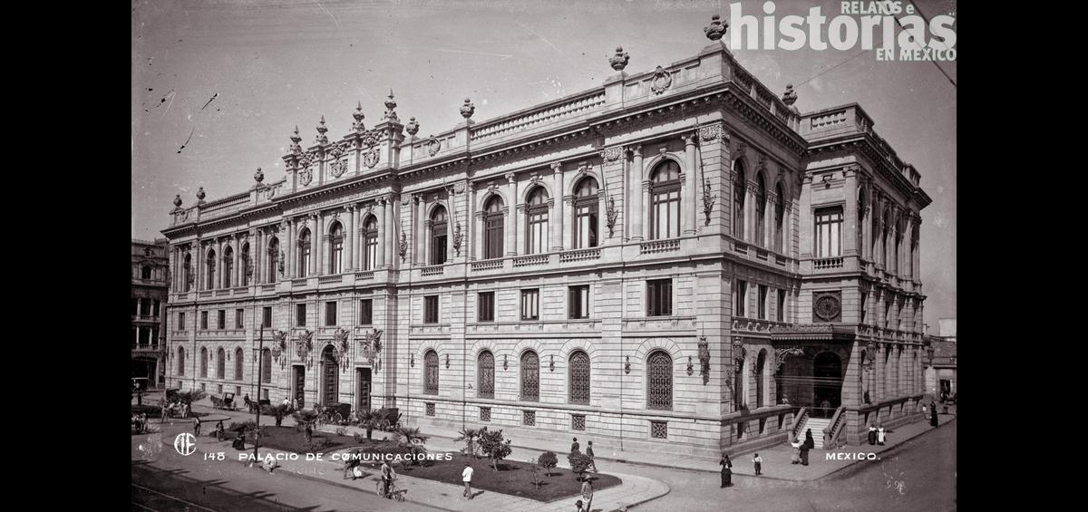 El Antiguo Palacio de Comunicaciones hoy Museo Nacional de Arte