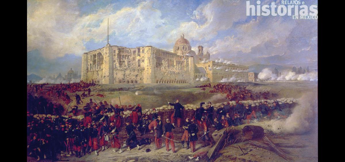 El 16 de marzo de 1863 inicia el sitio de Puebla durante la invasión francesa