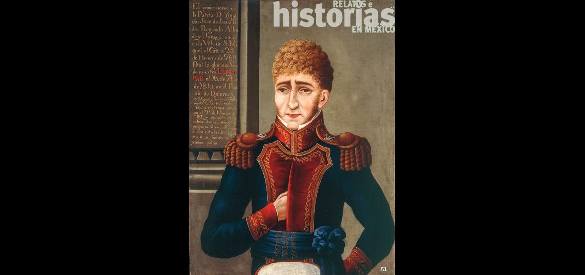 El 21 de enero de 1769 nació el caudillo insurgente Ignacio Allende