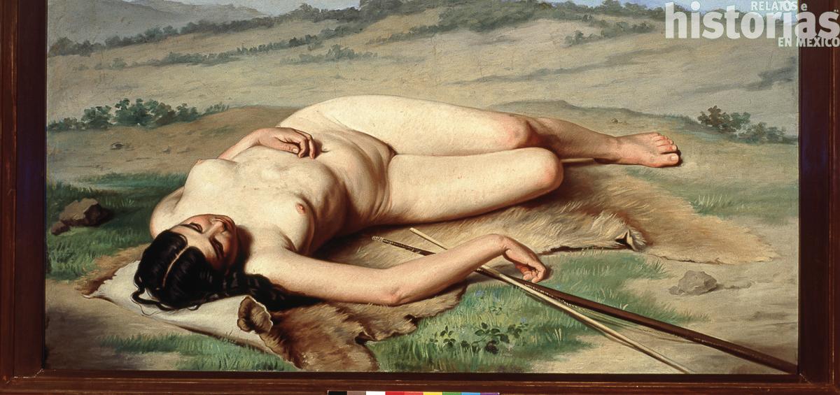 El primer desnudo del arte mexicano