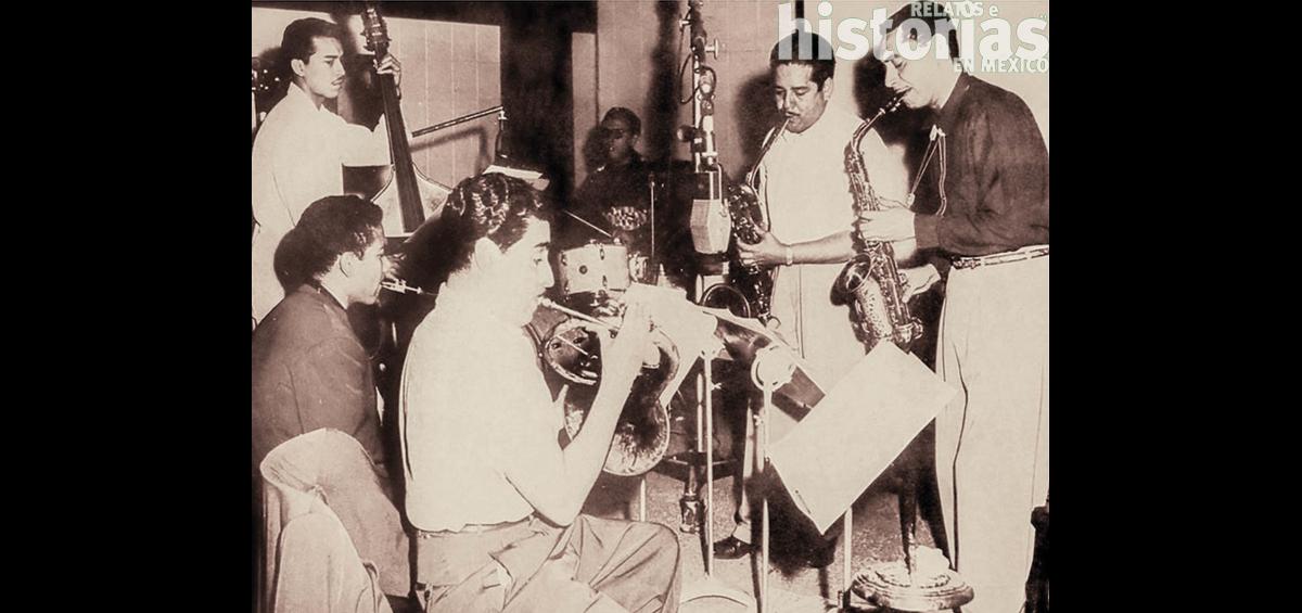 ¿Cuándo se grabó el primer disco de jazz en México?