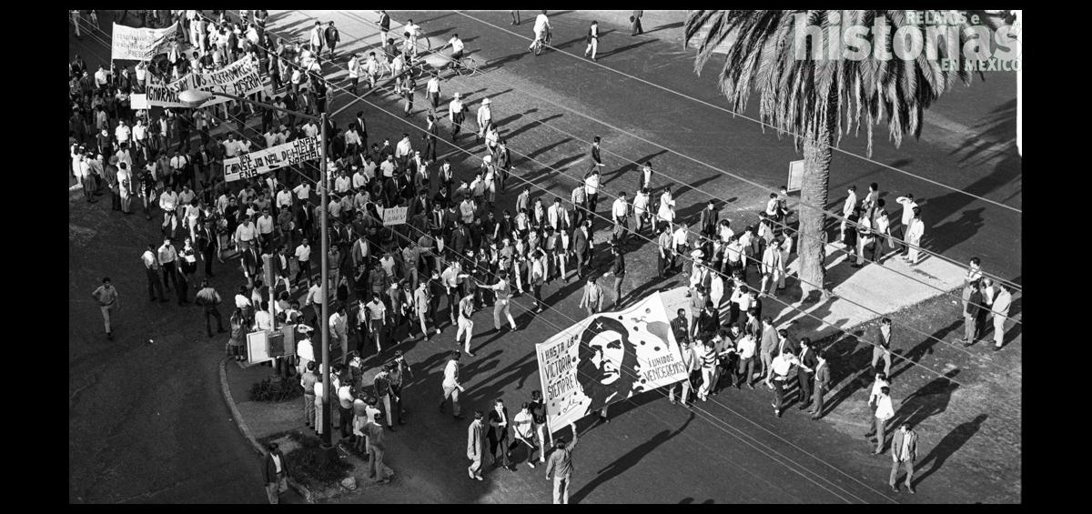 ¿Cómo inició el movimiento estudiantil del 68?