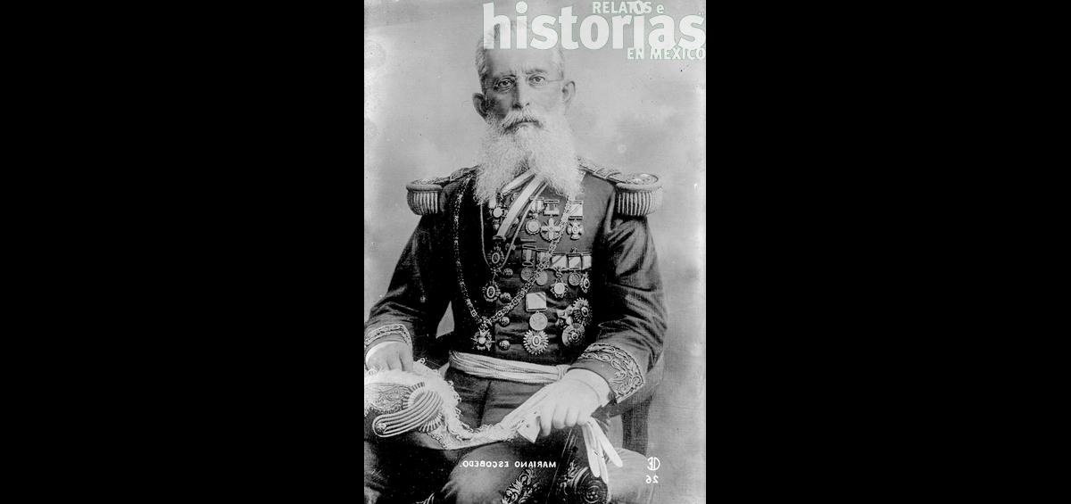 """Mariano Escobedo, el general """"más ameritado"""""""