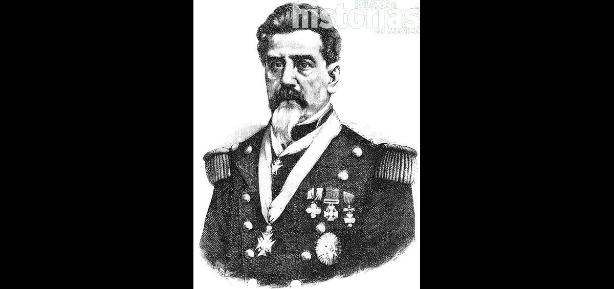 General Pedro Ampudia, defensor de Monterrey
