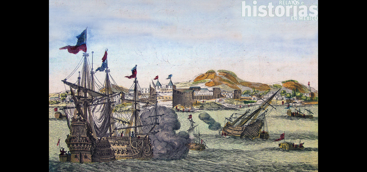 Piratas en Campeche