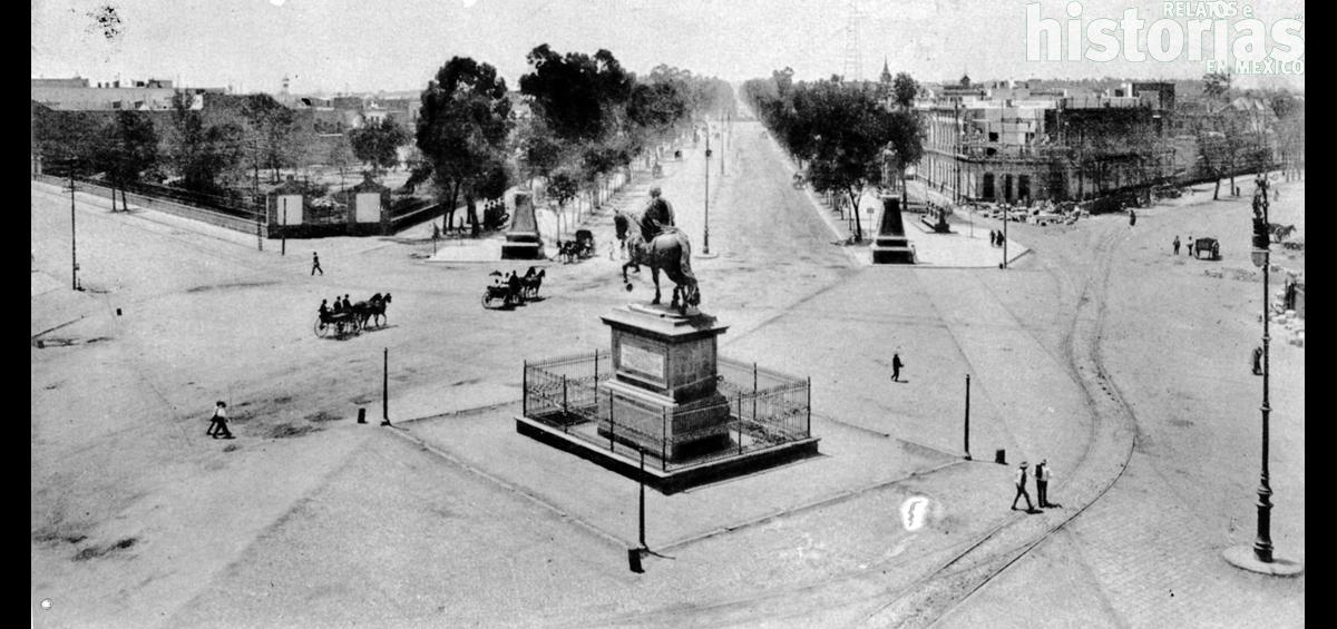 ¿Qué avenida es un paseo por el siglo XIX en México?