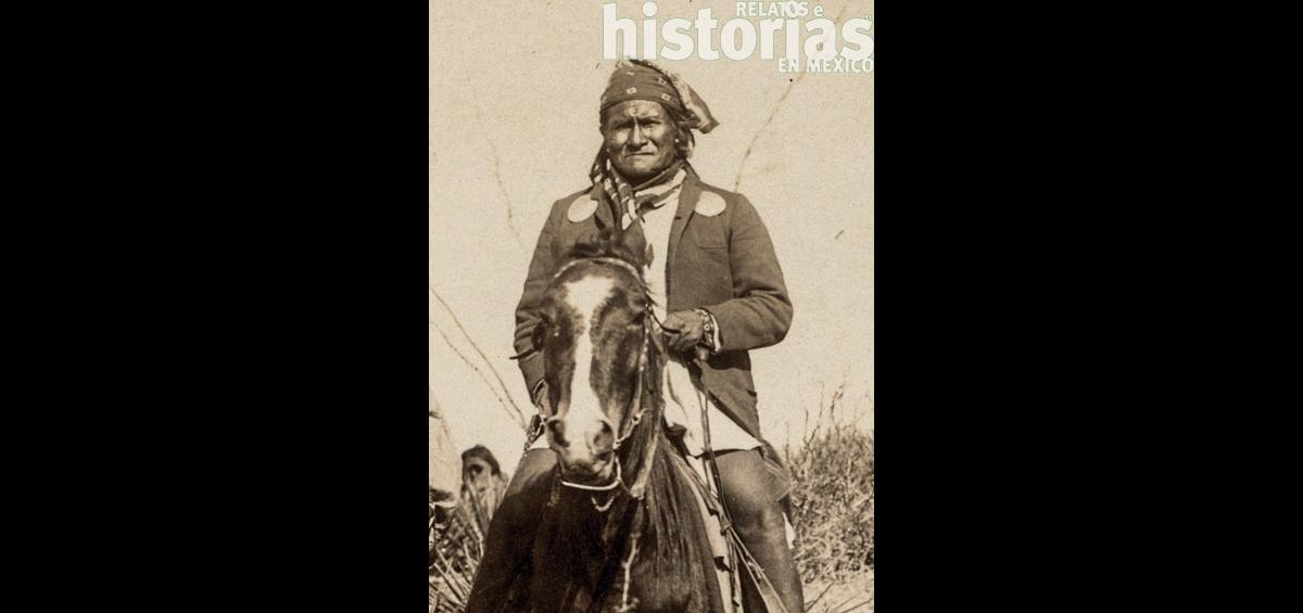 La rendición del gran jefe apache Gerónimo