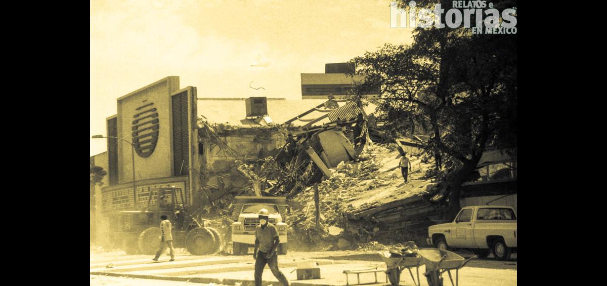 Narración para la XEW de Jacobo Zabludovsky en el terremoto de Mexico 85