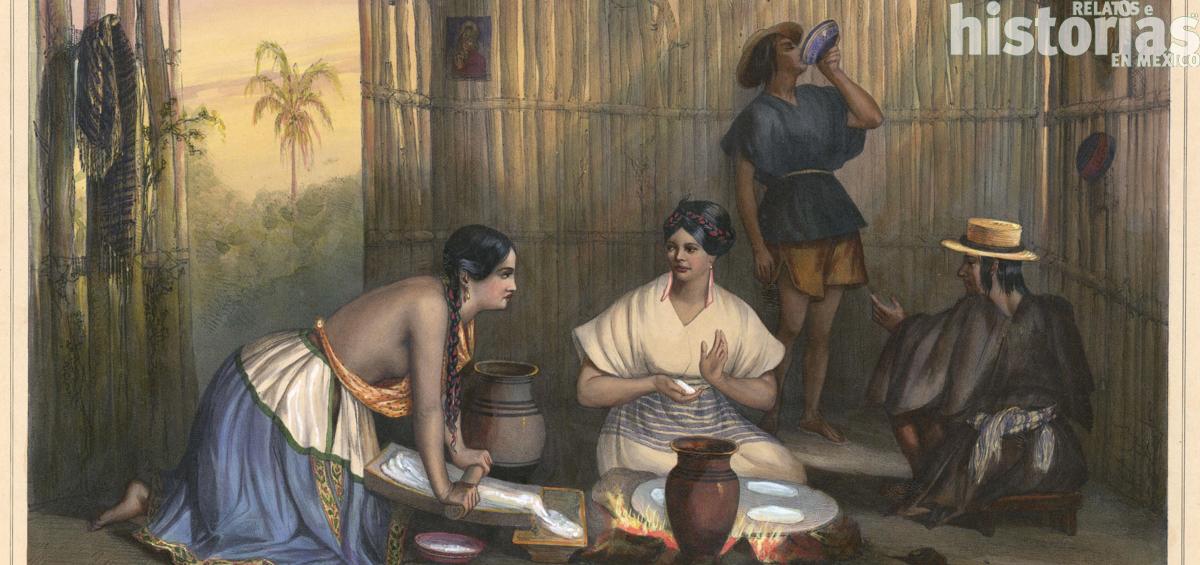 Choque de sabores en la Conquista de México