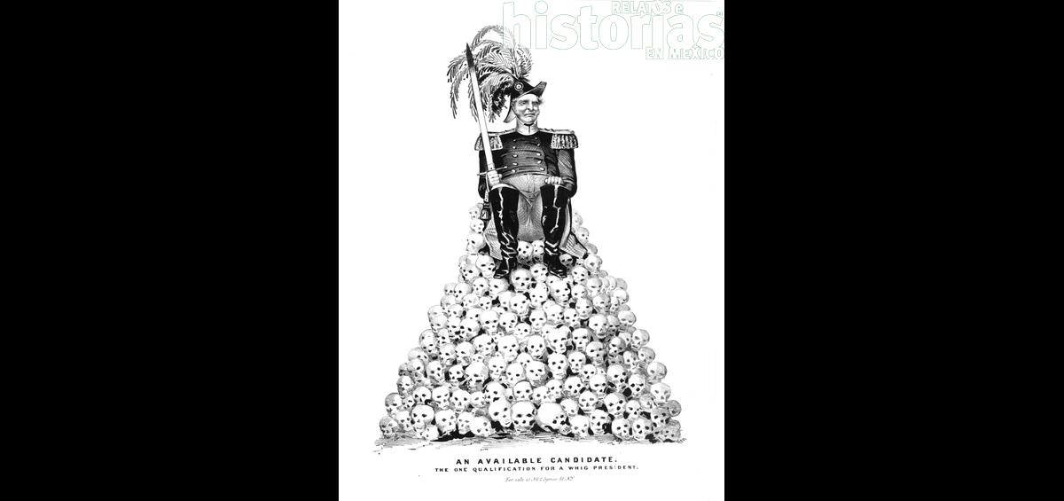 El cartón del mes: la campaña presidencial de Estados Unidos en 1848