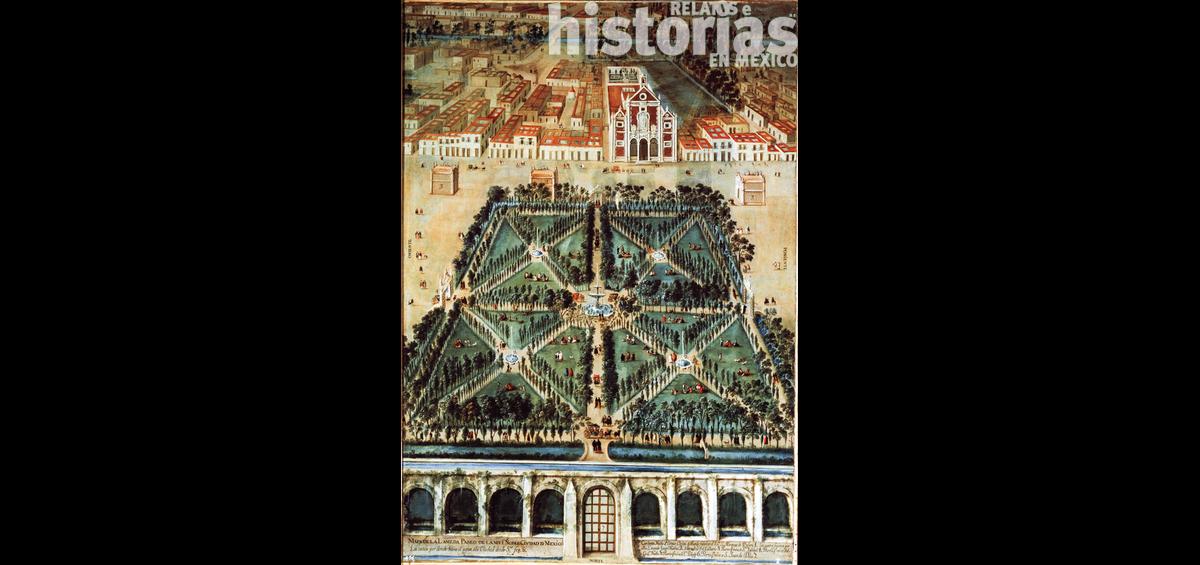 La Alameda Central, el primer parque público de la Nueva España
