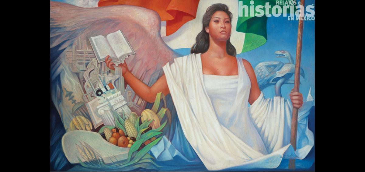Victoria Dorantes Sosa, la imagen más recordada de la Patria