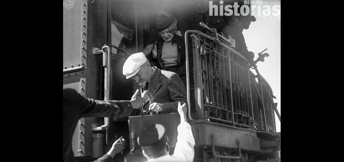 El 9 de enero de 1937 llegó León Trotsky a México