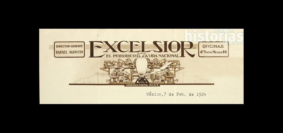 Cien años del Excélsior