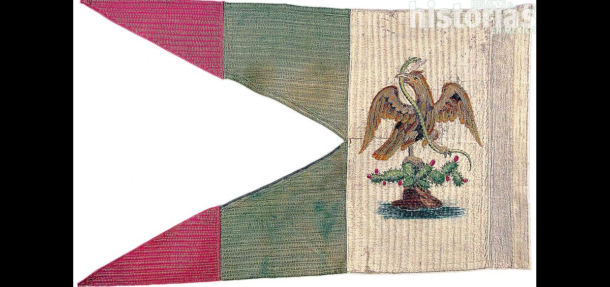 La Bandera de Chapultepec, botín de guerra de los Estados Unidos