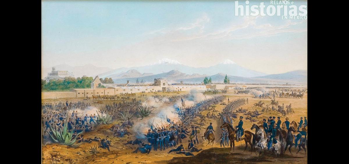 Ciudad de México durante la intervención estadounidense en 1847