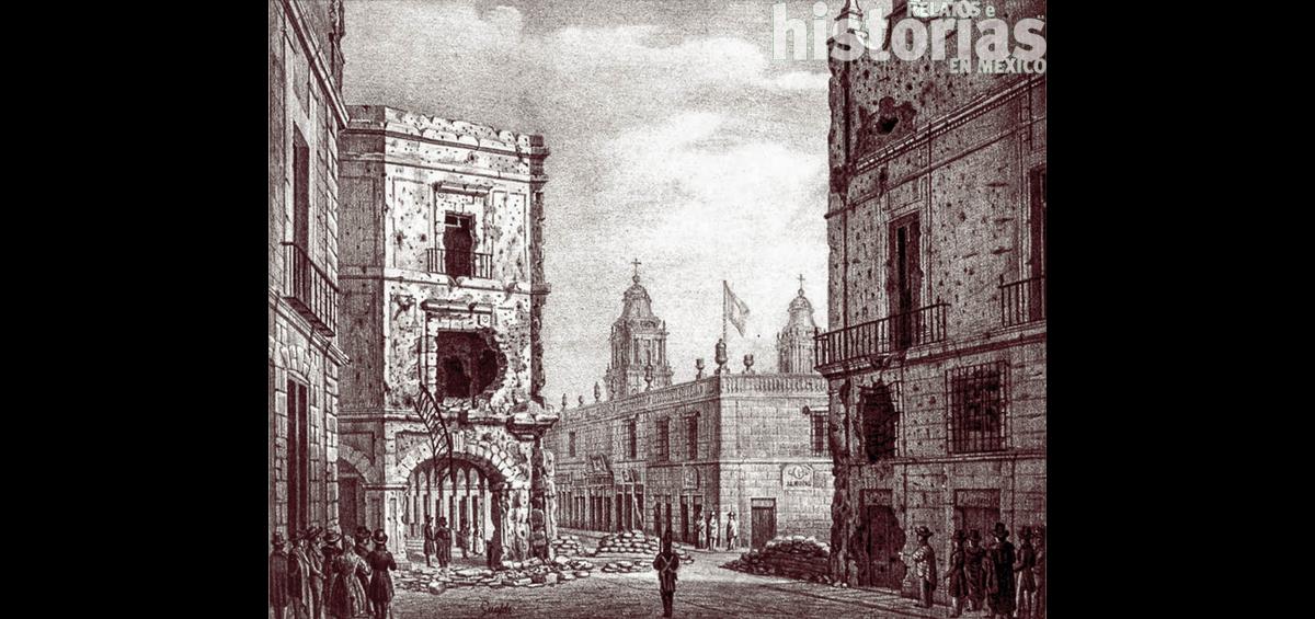 La vida en Ciudad de México durante la revolución de 1840