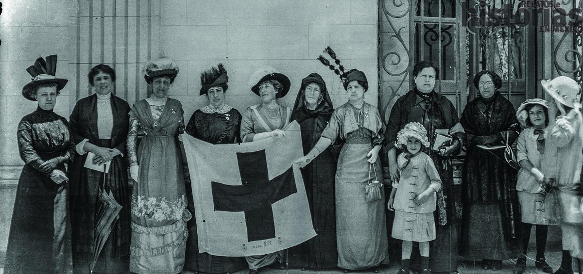 El 21 de febrero de 1910 nació la Cruz Roja Mexicana