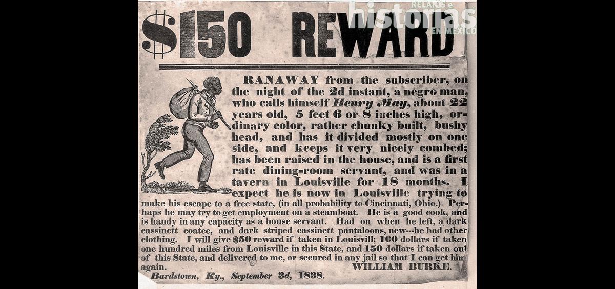 ¿Sabían que a mediados del siglo XIX, miles de esclavos de Estados Unidos intentaron cruzar la frontera con México para obtener su libertad?