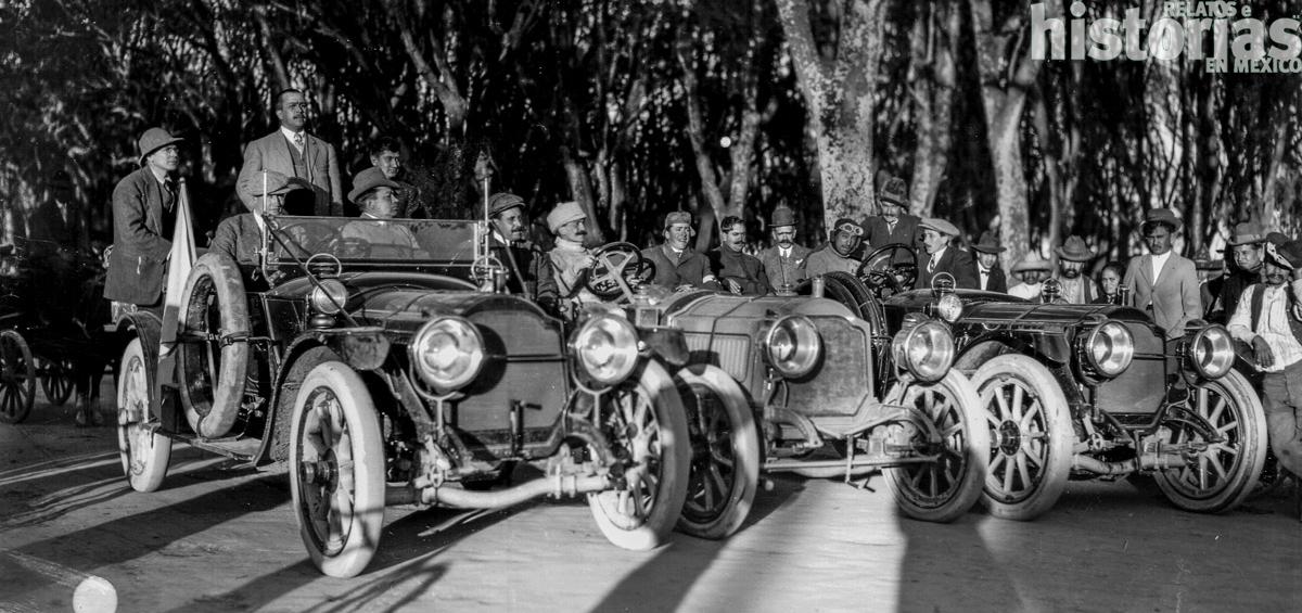La llegada del automóvil a principios del siglo XX