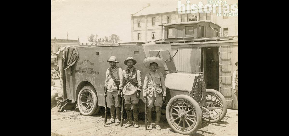 Vehículo blindado a inicios del siglo XX
