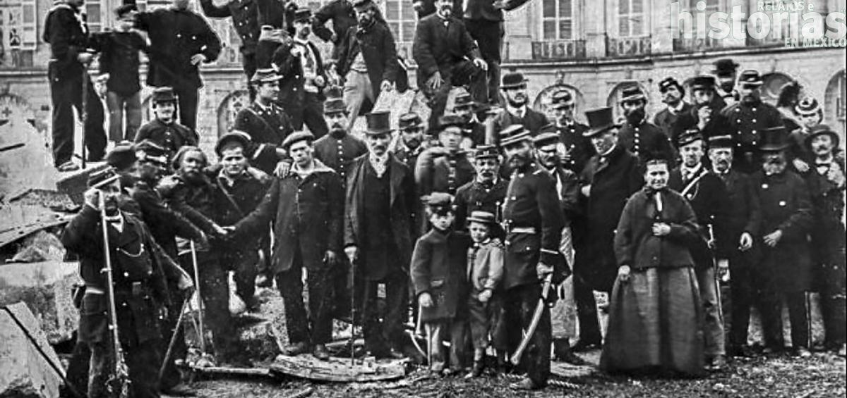 Durante la guerra civil de 1871 la Vendôme fue demolida por el pueblo de París