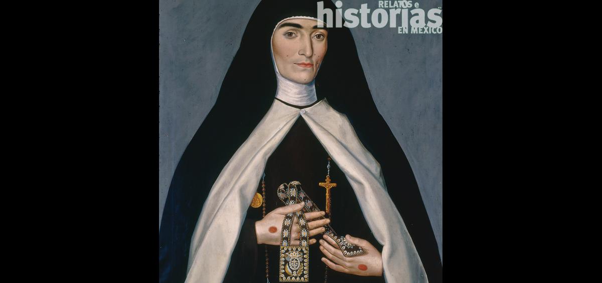 María Teresa de la Santísima Trinidad, una historia de estigmas y misticismo en Nueva España