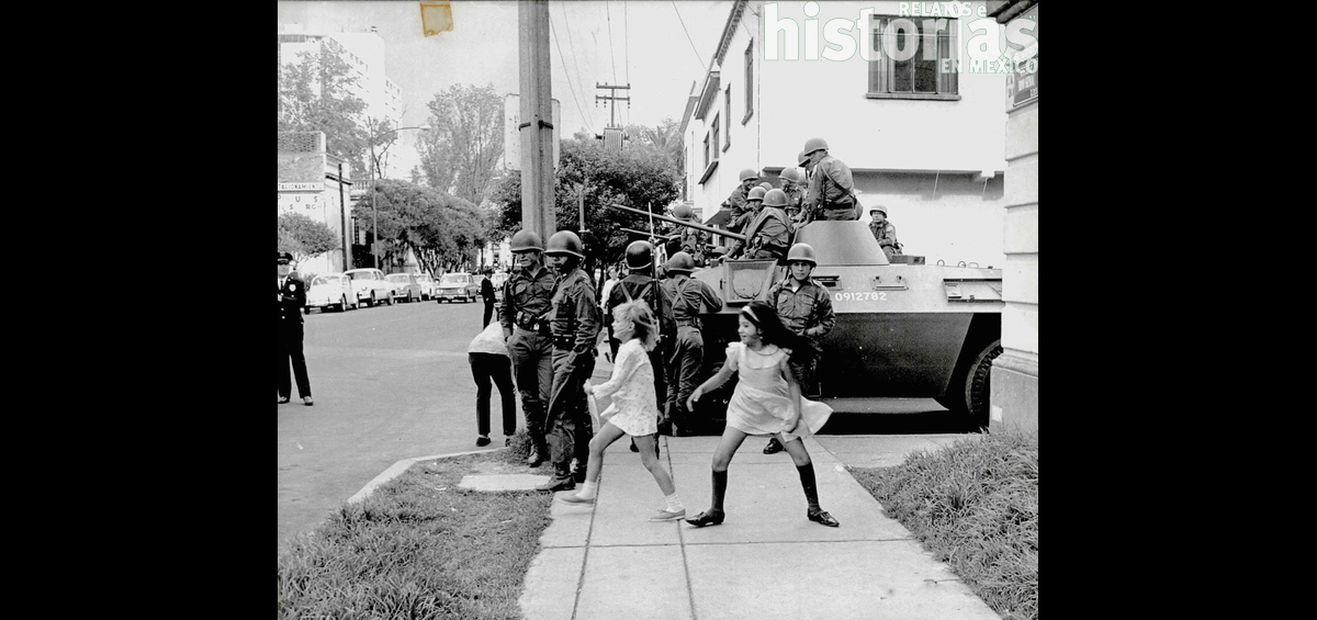 Fotogalería inédita del Movimiento Estudiantil de 1968