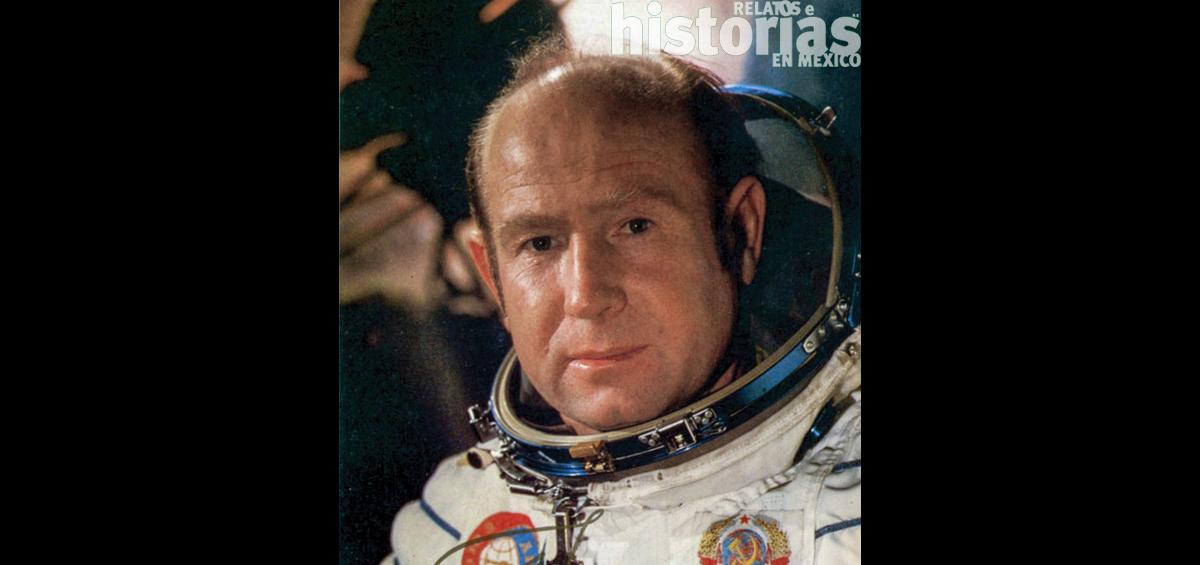 Alekséi Leónov, el primer hombre en el espacio