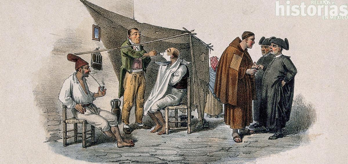 Un singular barbero en la Nueva España