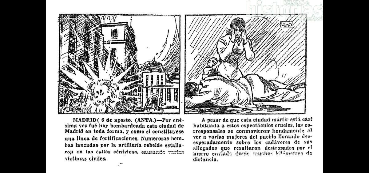 La guerra en España, día por día