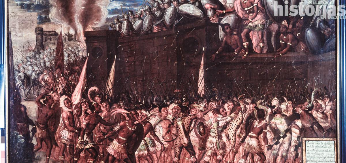 Hernán Cortés en México-Tenochtitlan