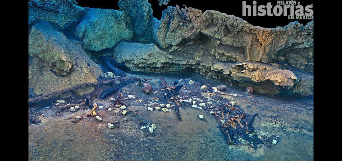 Documental arqueológico sobre las cuevas y cenotes de México