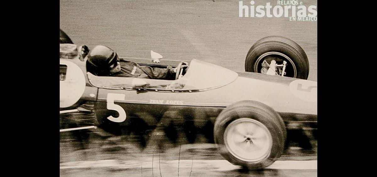 El primer Gran Premio de México