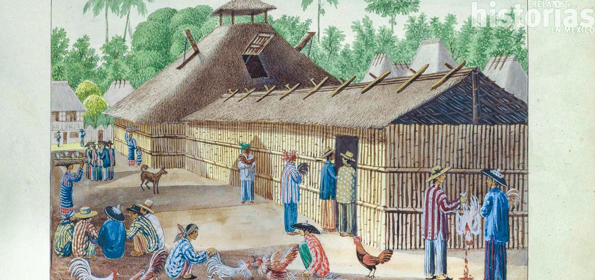 Los indios chinos en las costas de Guerrero