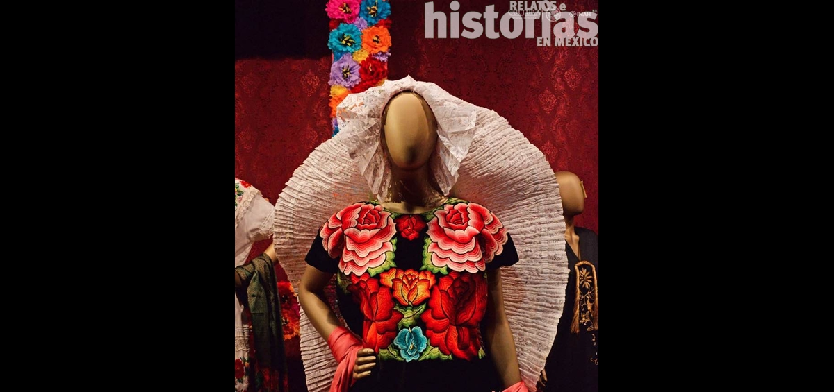 Las Flores En El Traje Regional Mexicano Relatos E