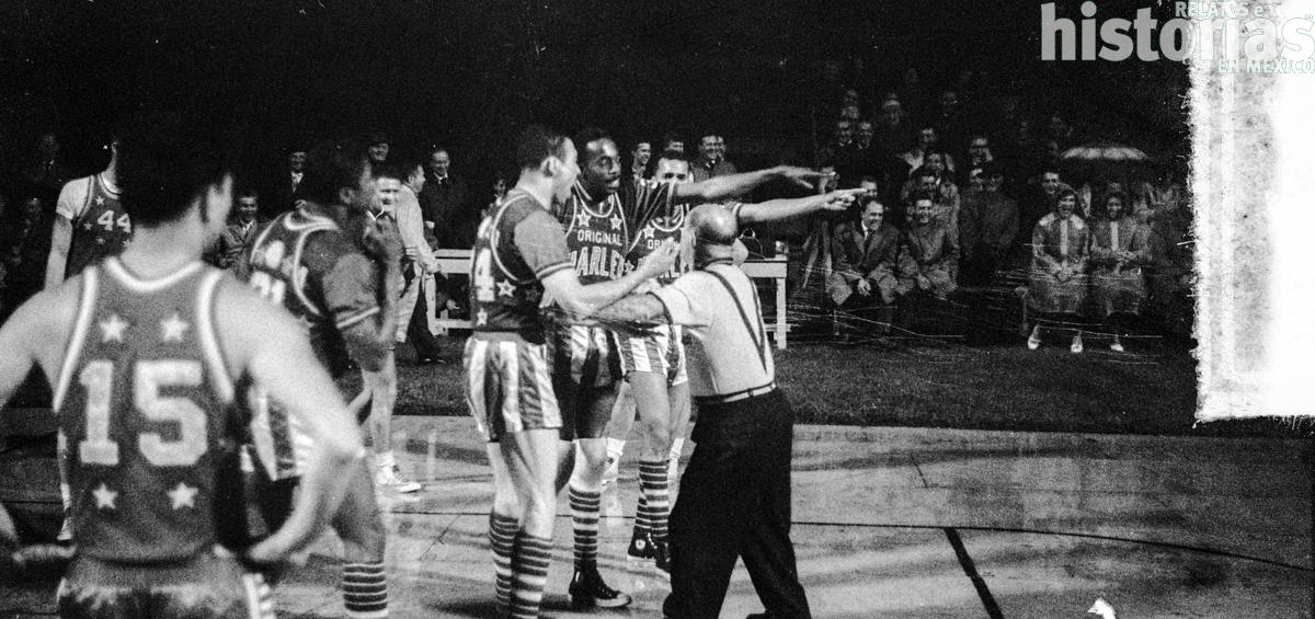 ¿Han visto el fabuloso e hilarante espectáculo del basquetbol Harlem Globetrotters?