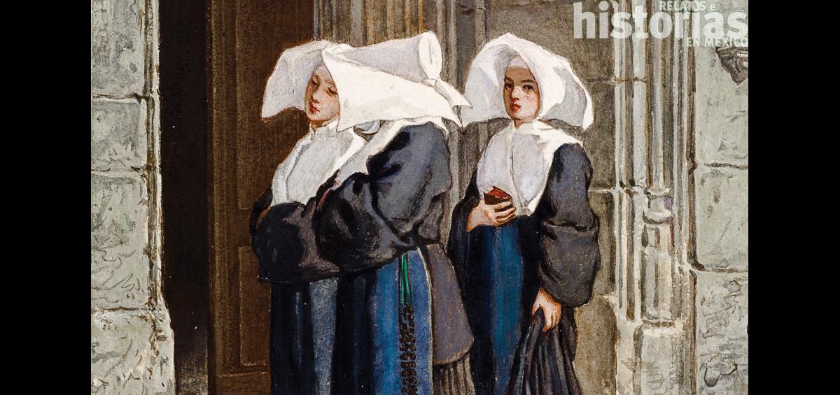 El encuentro con las monjas desterradas