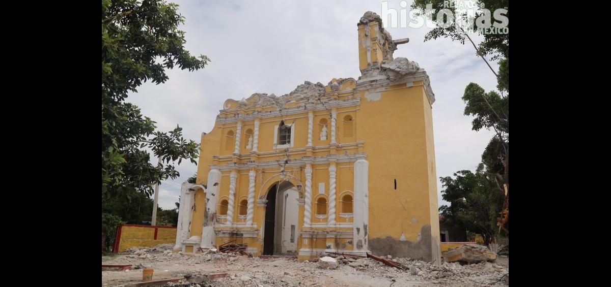 Hasta el momento el INAH reporta más de 800 edificaciones históricas afectadas por sismos del 7 y 19 de septiembre