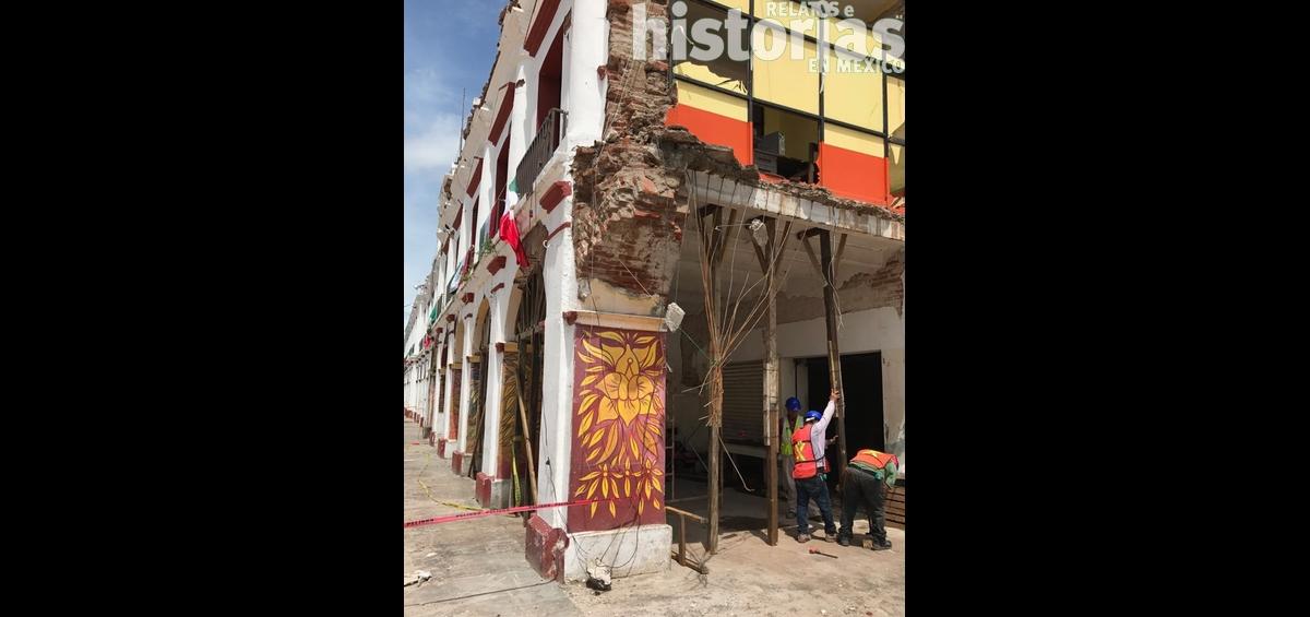 La Secretaría de Cultura y el INAH emprenden acciones para recuperar inmuebles históricos afectados por los sismos de septiembre pasado