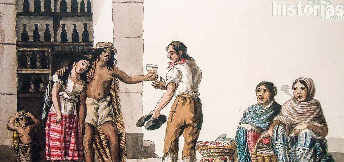 El impuesto al vino mezcal en Nueva España
