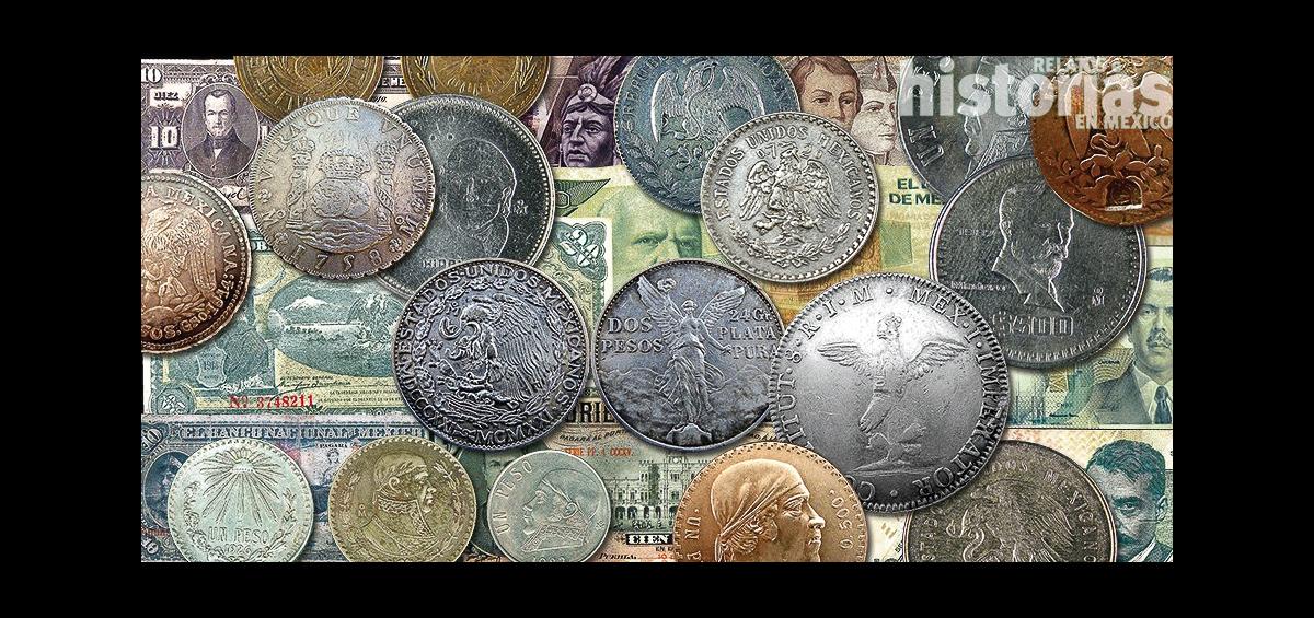 Monedas y billetes en la historia de México