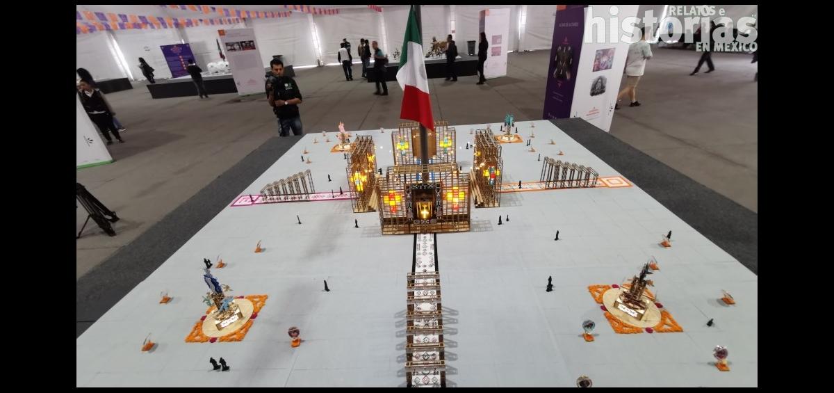 Ofrenda Monumental del Zócalo de la Ciudad de México