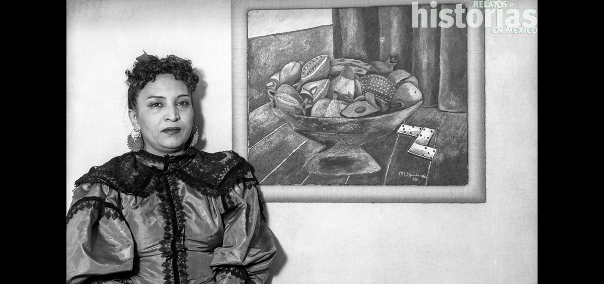 """""""Es un delito ser mujer y tener talento"""", sentenció María Izquierdo, la pintora que enfrentó a los muralistas"""